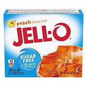 Jell-O Sugar Free Peach Gelatin Dessert Mix
