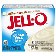 Jell-O Sugar Free White Chocolate Instant Pudding Mix