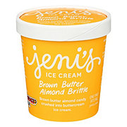Jenis Brown Butter Almond Brittle Ice Cream