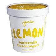 Jenis Lemon Buttermilk Frozen Yogurt