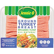 Jennie-O Extra Lean Ground Turkey Breast 99% Lean
