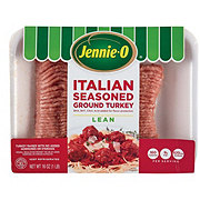 Jennie-O Lean Ground Turkey Italian Style