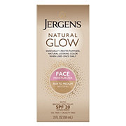 Jergens Natural Glow Fair To Medium Skin Tones Face Daily Moisturizer