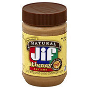 Jif Natural Creamy Peanut Butter with Honey