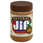 Jif Natural Low Sodium Creamy Peanut Butter