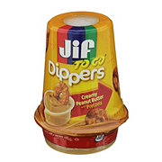 Jif To Go Dippers, Creamy Peanut Butter with Pretzels