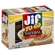 Jif To Go Natural Creamy Peanut Butter