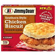 Jimmy Dean Chicken Biscuit Sandwiches Meal Size
