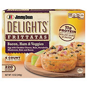 Jimmy Dean Delights Bacon Ham And Veggies Frittatas