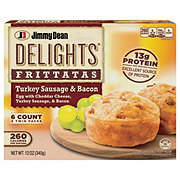 Jimmy Dean Delights Frittatas Turkey Sausage & Bacon