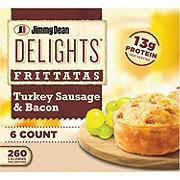 Jimmy Dean Delights Turkey Sausage & Bacon Frittatas