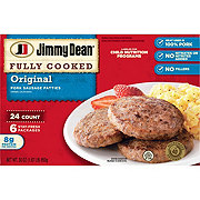 Jimmy Dean Fully Cooked Pork Patties