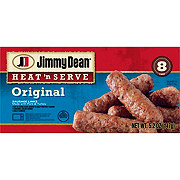 Jimmy Dean Heat 'N Serve Fully Cooked Regular Sausage Links