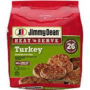 Jimmy Dean Heat 'N Serve Turkey Sausage Patties