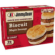 Jimmy Dean Maple Sausage Biscuits Snack Size