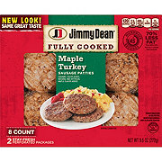 Jimmy Dean Maple Turkey Sausage Patties