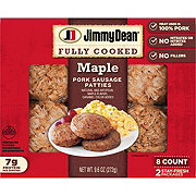 Jimmy Dean Pork Maple Sausage Patties
