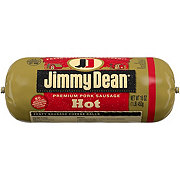 Jimmy Dean Premium Hot Pork Sausage