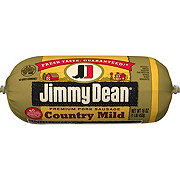 Jimmy Dean Premium Pork Country Mild Sausage Roll