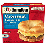 Jimmy Dean Sausage Egg and Cheese Croissant Sandwiches Family Pack
