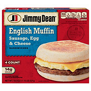 Jimmy Dean Sausage, Egg and Cheese English Muffin Sandwiches