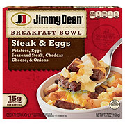 Jimmy Dean Steak & Eggs Breakfast Bowl