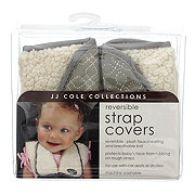 JJ Cole Collections Reversible Strap Cover, Graphite