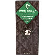 John Kelly Milk Chocolate Roasted Hazelnuts Mediterranean Sea Salt