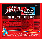 John Morrell Mesquite Hot Dogs