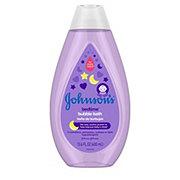 Johnson's Bedtime Bubble Bath and Wash