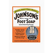 Johnson's Powder Foot Soap