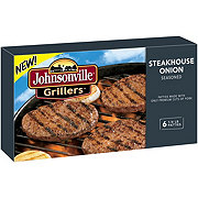 Johnsonville Grillers Steakhouse Onion Patties