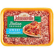 Johnsonville Sweet Italian Ground Sausage
