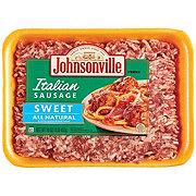 Johnsonville Sweet Italian Ground Sausage