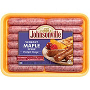 Johnsonville Vermont Maple Syrup Breakfast Sausage Links