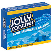 Jolly Rancher Blue Raspberry Gelatin Dessert Mix