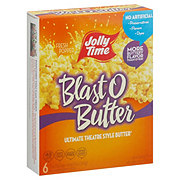 Jolly Time Blast O Butter Ultimate Theatre Style Butter Microwave Popcorn