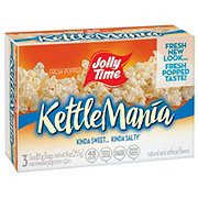Jolly Time Microwave Popcorn Kettlemania