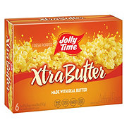 Jolly Time Microwave Popcorn Xtra Butter