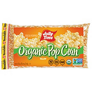 Jolly Time Organic Yellow Popcorn Bag