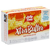 Jolly Time Xtra Butter Microwave Popcorn