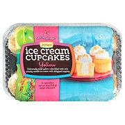 Jon Donaire Yellow Ice Cream Cupcakes