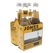 Jones Stripped Orange Mango Soda 12 oz Bottles