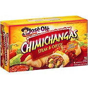 Jose Ole Steak & Cheese Chimichangas