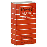 Jovan Musk After Shave Cologne For Men