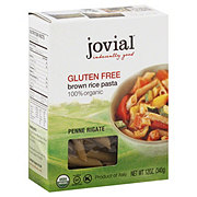 Jovial Brown Rice Penne Rigate Gluten Free