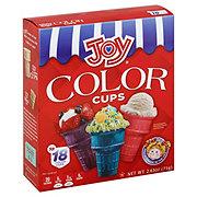 Joy Ice Cream Cups, Color