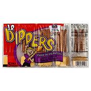 JR Dippers Cheese Dip & Pretzels