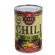 JR Texas Brand Chili No Beans