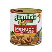Juanita's Menudo without Hominy